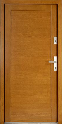 drzwi zewnętrzne drewniane drewniane